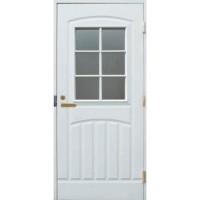 Финская уличная дверь Jeld-Wen F2000w71 белая